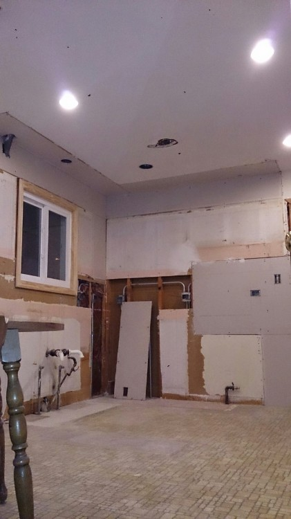 kitchen week 1 progress
